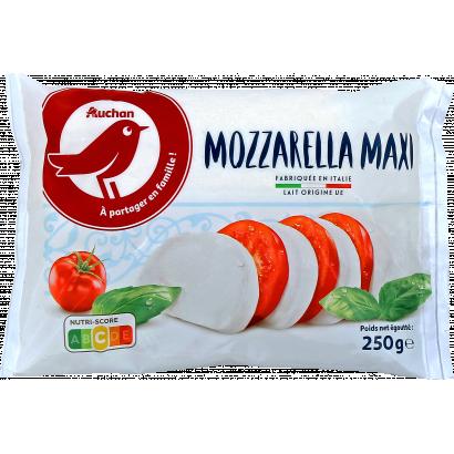 Auchan Nívó Mozzarella sajt- maxi 390/250 g