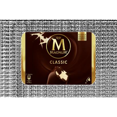 Magnum Classic vanília jégkrém tejcsokoládé bevonattal 4 db 440 ml