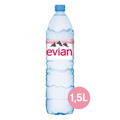 Evian természetes szénsavmentes ásványvíz 1,5 l